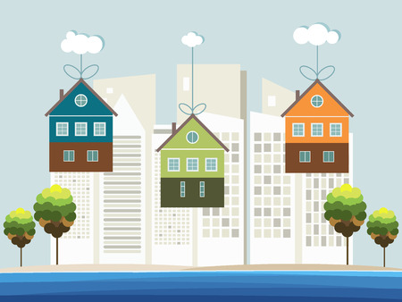 Colorful Beach Houses For Sale / Rent. Real Estate