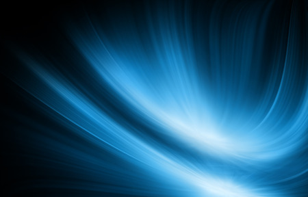 Photo for Abstract blue background, beautiful lines and blur - Royalty Free Image