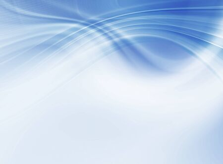 Photo pour Abstract blue background, beautiful lines and blur - image libre de droit