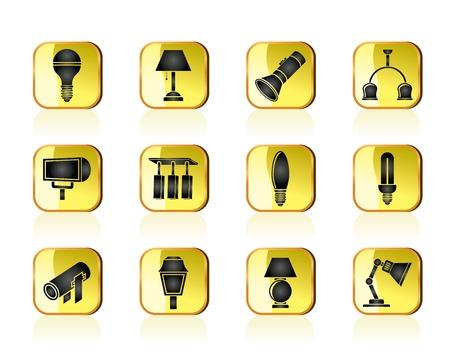 different kind of lighting equipment