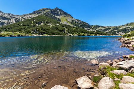 Amazing Landscape with  Valyavishko Lake, Pirin Mountain, Bulgaria