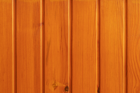 Foto de Photo of wooden boards covered with antiseptic Oregon, glued to each other. - Imagen libre de derechos