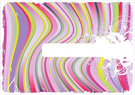 abstract wavy vector-background with copyspace for your text