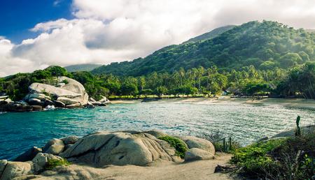 view on jungle at park national tayrona