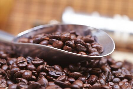 Photo pour coffee beans - image libre de droit