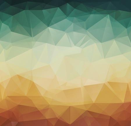 Foto de Vector Abstract geometric pattern retro background - Imagen libre de derechos