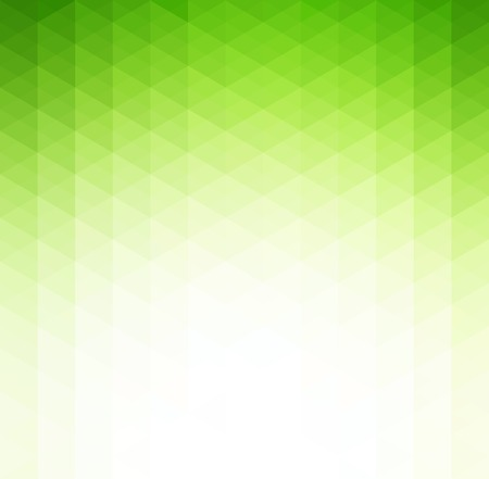 Illustration pour Vector Abstract green  geometric technology background  with triangle - image libre de droit