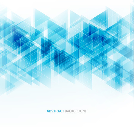 Illustrazione per Vector Abstract Geometric Background. Triangular design. - Immagini Royalty Free