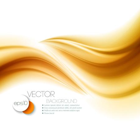 Illustration pour Beautiful Gold Satin. Drapery Background. Vector Illustration - image libre de droit