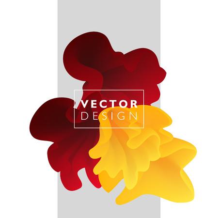 Foto de Vector abstract color cloud.  Liquid ink splash. Background for banner, card, poster, web design - Imagen libre de derechos