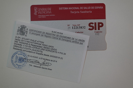 SIP Card and Residencia