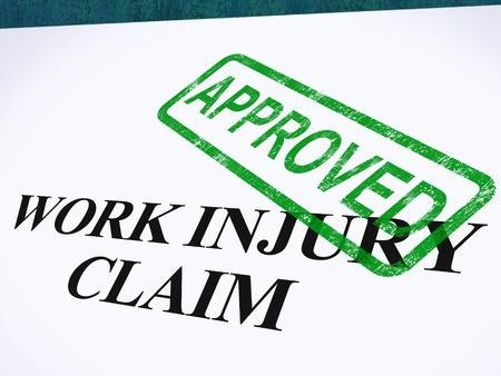 Work Injury Claim Approved Showing Medical Expenses repaid