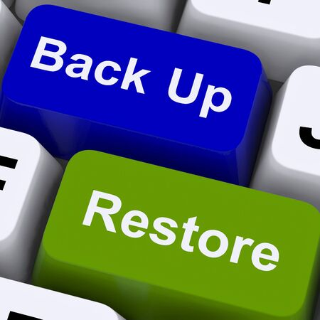 Back Up And Restore Keys For Computer Data Security