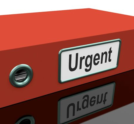 Urgent File Showing Documents With Priority Deadline