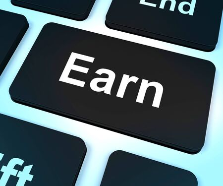 Earn Computer Key Shows Working And Earning