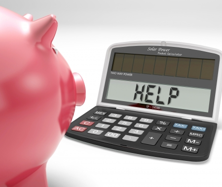 Help Calculator Showing Borrow Savings And Budgeting