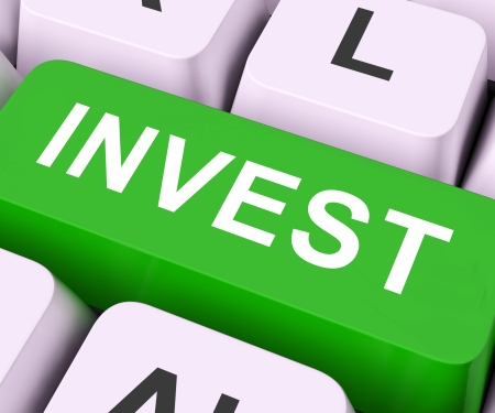 Invest Key On Keyboard Meaning Investing Money