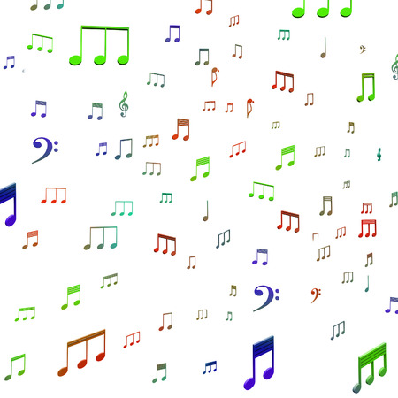 Musical Notes Showing Music Audio Sound Or Entertainment
