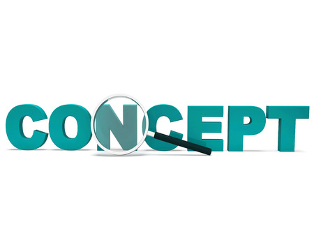 Concept Word Showing Thinking Idea Concepts Or Invention