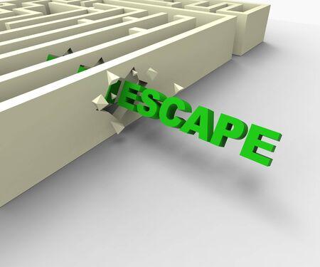 Escape From Maze Shows Jailbreak Or Escape