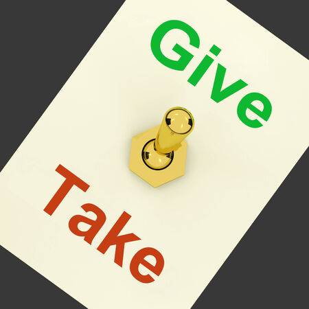 Give Take Lever Meaning Offering And Receiving