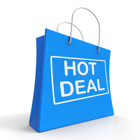 Hot Deal On Shopping Bags Showing Bargains Sale And Save