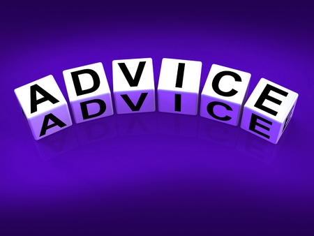 Advice Blocks Indicating Direction Recommendation and Guidance