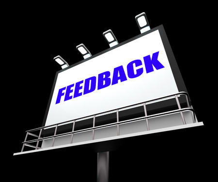 Feedback Sign Representing Opinion Evaluation and Comment