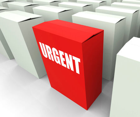 Urgent box Referring to Urgency Priority and Critical