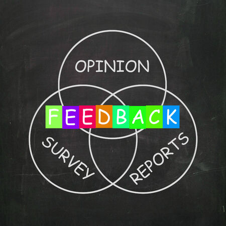 Feedback Giving Reports and Surveys of Opinions