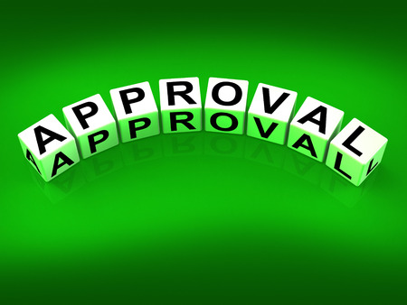 Approval Blocks Showing Validation Acceptance and Approved