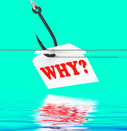 Why? On Hook Displaying Uncertainty Mystery Or Confusion