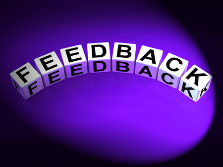 Feedback Dice Meaning Comment Evaluate and Review