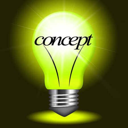 Concepts Concept Showing Innovation Conceptualization And Thoughts