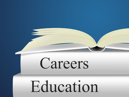Career Education Showing Line Of Work And Careers Advice