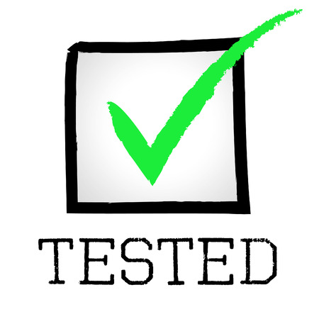 Tick Tested Representing Excellence Tests And Confirm