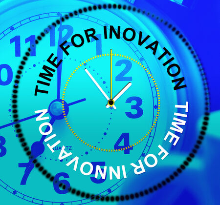 Time For Innovation Indicating Invention Create And Concepts