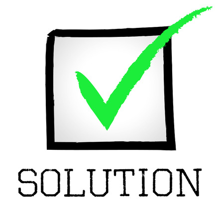 Solution Tick Meaning Checkmark Resolution And Solve
