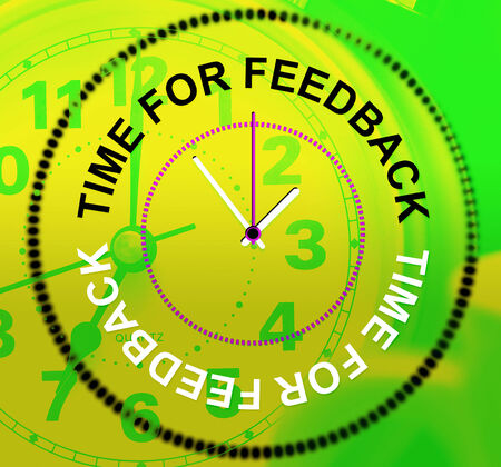 Time For Feedback Meaning Review Commenting And Evaluation