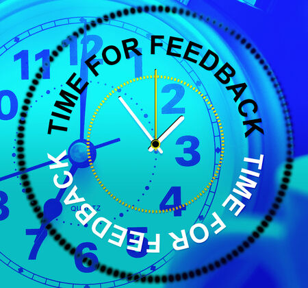 Time For Feedback Meaning Survey Questionnaire And Evaluation