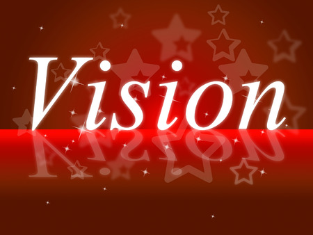 Goals Vision Showing Target Planning And Aim