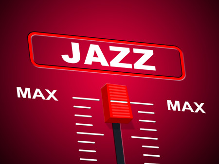 Music Jazz Showing Acoustic Soundtrack And Audio