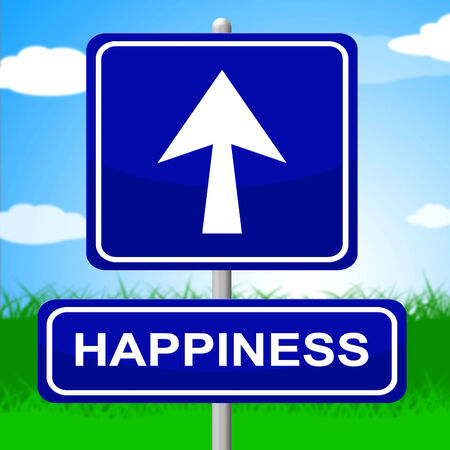 Happiness Sign Meaning Joy Message And Fun