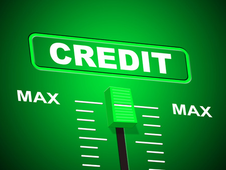Max Credit Indicating Upper Limit And Owed