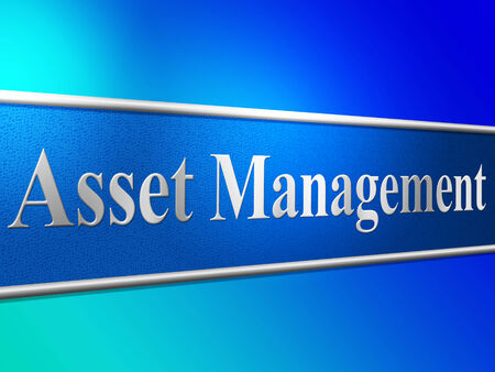 Management Asset Indicating Business Assets And Wealth
