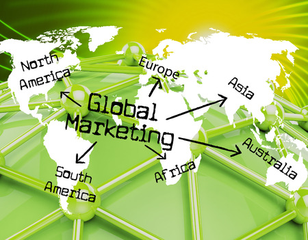 Global Marketing Representing Promotions Advertising And Globalise