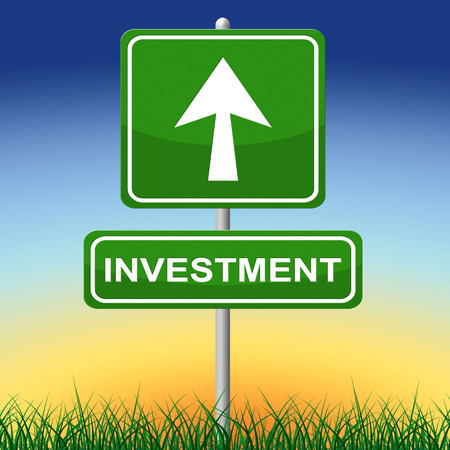 Investment Sign Meaning Savings Invested And Signboard