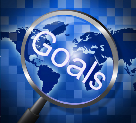 Goals Magnifier Meaning Motivation Magnification And Research