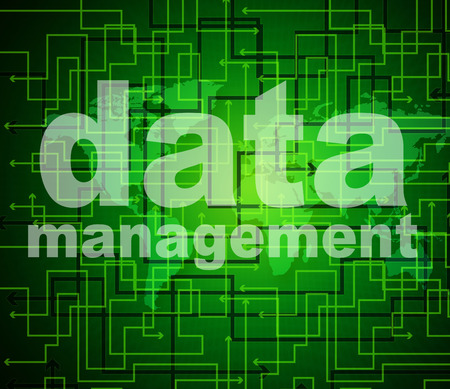 Data Management Showing Business Executive And Boss