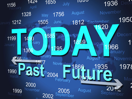 Today Time Meaning At The Moment And Past Times